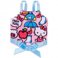 Haine Barbie Hello Kitty top roz cu imprimeu