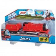 James Trenulet Locomotiva Motorizata cu Vagon Thomas&Friends Track Master
