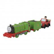 Locomotiva motorizata Henry si masinuta Winston Thomas & Friends