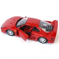 Masinuta Ferrari F40 Rosu 1/24 Bburago