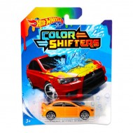 Masinuta Mitsubishi Lancer Evolution 1/64 Hot Wheels Colour Shifters