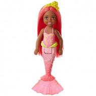 Papusa Barbie Chelsea Dreamtopia sirena roscata