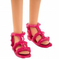Papusa Barbie Chelsea Lost Birthday cu catel si costum de baie