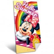 Prosop de plaja Minnie Mouse 140x70cm, 100% Bumbac