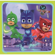 Puzzle Eroi in Pijama 3 in 1 - 20, 36 si 50 piese