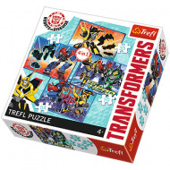 Puzzle Transformers 4 in 1 - 35, 48, 54 si 70 piese