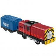 Salty Trenulet Locomotiva Motorizata cu Vagon Thomas&Friends Track Master
