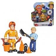 Set 2 Figurine Sam Pompierul - Elvis si Penny