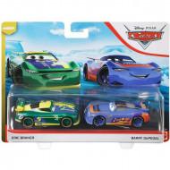 Set 2 masinute metalice Eric Braker si Barry DePedal Disney Cars