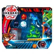 Set Bakugan 5 figurine Ventus Fangzor si Aurelus Trox