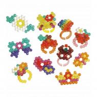 Set creativ Aquabeads - Inele stralucitoare