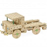 Set de constructie din lemn 318 piese Matador Explorer