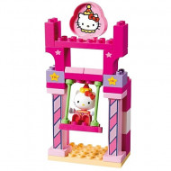 Set de cuburi Leaganul Hello Kitty Unico