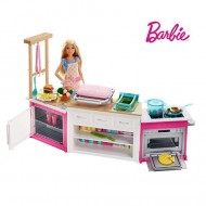 Set de joaca Bucataria completa Barbie