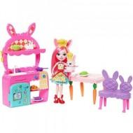 Set de joaca Distractia in bucatarie cu Bree Bunny si Twist- EnchanTimals