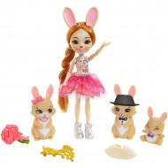 Set de joaca Familia Brystal Bunny Enchantimals Royal