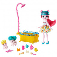 Set de joacă Petya Pig EnchanTimals - Baia purcelusilor