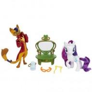 Set de joaca Prietenii Modei Rarity si Capper Dapperpaws My Little Pony: Filmul