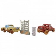 Set de masinute T-Bone si Jimbo Crazy 8 Crashers Cars 3