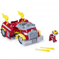 Set Marshall si Super Masina de Pompieri transformabila Power Up Paw Patrol Mighty Pups - Patrula Catelusilor
