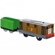 Toby Trenulet Locomotiva Motorizata cu Vagon Thomas&Friends Track Master