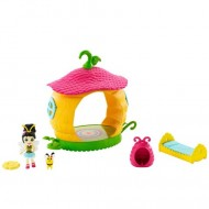 Set de joaca dormitorul papusii Beetrice Bee - Petal Park - EnchanTimals