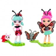 Set figurine Ladelia Ladybug şi Baxi Butterfly- EnchanTimals