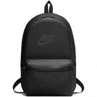 Ghiozdan rucsac Nike Heritage negru cu buzunar frontal