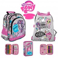 Set Scoala My Little Pony: Ghiozdan, penar si sac de umar