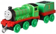Locomotiva Metalica cu vagon Henry Push Along Thomas&Friends Track Master