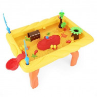 Masa interactiva galbena pentru joaca cu apa - Pescuieste si distreaza-te!