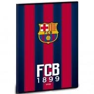Caiet matematica FC Barcelona Rosu cu Albastru A5