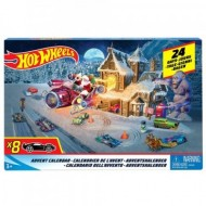 Calendar Advent- 24 de zile Hot Wheels