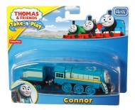 Connor Trenulet Locomotiva din Metal cu Vagon Thomas&Friends Take and Play