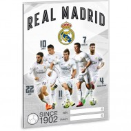 Coperta caiet A5 Real Madrid