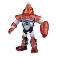 Figurina articulata Ben 10 Heatblast Omni-Kix Armor