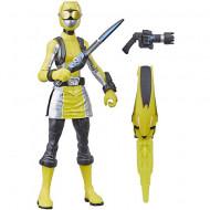 Figurina Power Ranger cu accesorii - Yellow Ranger 15 cm