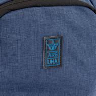 Ghiozdan rucsac Ars Una gri cu albastru AU - 3