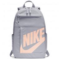 Ghiozdan rucsac Nike Elemental gri deschis, cu 4 compartimente