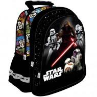 Ghiozdan rucsac scoala Star Wars Force Awakens negru 39 cm