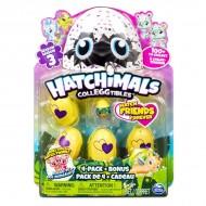 Hatchimals Colleggtibles pachet surpriza cu 4 oua si figurina bonus Season 3