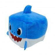 Jucarie de plus cub Baby Shark cu sunete - tata rechin