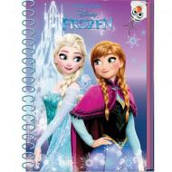 Jurnal cu spirala A6 Elsa si Anna Frozen