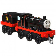 Locomotiva cu Vagon Metalica James Original Push Along Thomas&Friends Track Master
