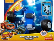 Masinuta Articulata 2 in 1 Crusher - Blaze and the Monster Machines