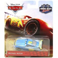 Masinuta metalica Michael Rotor Fireball Beach Racers Disney Cars 3