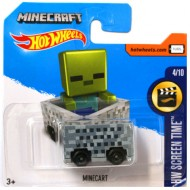 Masinuta Minecraft 1/64 Hot Wheels Screen Time