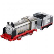 Merlin Trenulet Locomotiva Motorizata cu Vagon Thomas&Friends Track Master