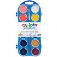 Paleta acuarele 12 culori Carioca