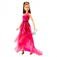 Papusa Barbie bruneta Pink and Fabulous